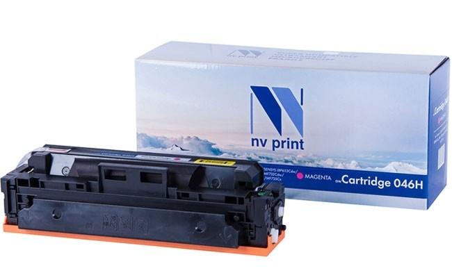 Картридж NVP совместимый NV-046H Magenta для Canon i-Sensys LBP 653Cdw/ 654Cx/ MF 732Cdw/ 734Cdw/ 735Cx (5000k) - фото 10053
