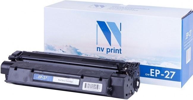 Картридж NVP совместимый NV-EP-27 для Canon LBP3200/ Canon LaserBase MF3110/ MF3240/ MF5630/ MF5650/ MF5730/ MF5750/ MF5770 (2500k) - фото 10097