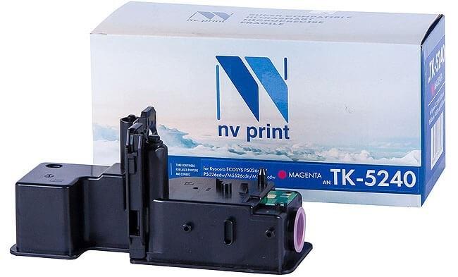 Картридж NVP совместимый NV-TK-5240 Magenta для Kyocera Ecosys P5026cdn/P5026cdw/M5526cdn/M5526cdw (3000k) - фото 10147