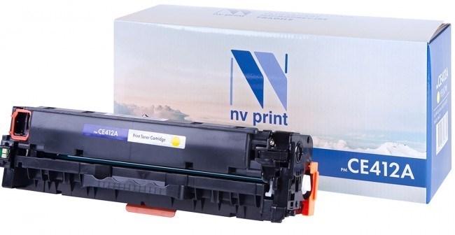 Картридж NVP совместимый NV-CE412A Yellow для HP Color LaserJet 300 MFP M375nw/ 400 MFP M475dn/ 400 MFP M475dw/ 300 M351a/ 400 M451dn/ 400 M451dw/ 400 M451nw (2600k) - фото 10185