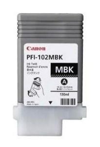 Картридж для плоттера Canon IPF500/600/700 PFI-102MBK матовый черный - фото 10243