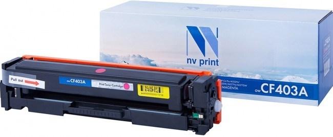 Картридж NVP совместимый NV-CF403A Magenta для HP Color LaserJet Pro M252dw/ M252n/ M274n/ M277dw/ M277n (1400k) - фото 10254