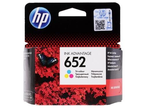Картридж струйный HP 652 F6V24AE многоцветный (200стр.) для HP DJ IA 1115/2135/3635/4535/3835/4675 - фото 10365