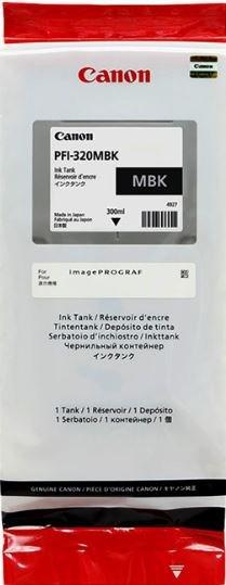 Картридж струйный Canon PFI-320 MBK 2889C001 черный матовый (300мл) для Canon imagePROGRAF TM-200/20 - фото 10386