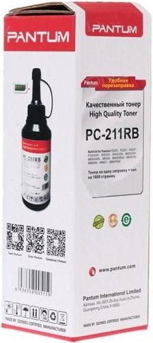 Тонер Pantum PC-211RB черный флакон  (в компл.:чип) Series P2200/2500/M6500/6550/6600 для принтера - фото 10400