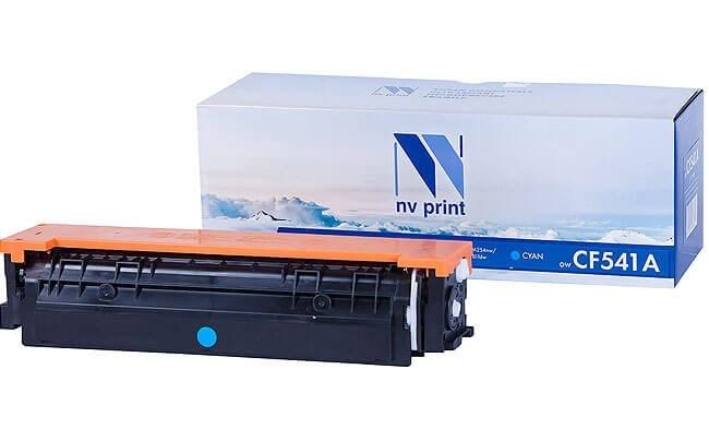 Картридж NVP совместимый NV-CF541A Cyan для HP Color LaserJet Pro M254dw/ M254nw/ M280nw/ M281fdn/ M281fdw (1300k) - фото 10495