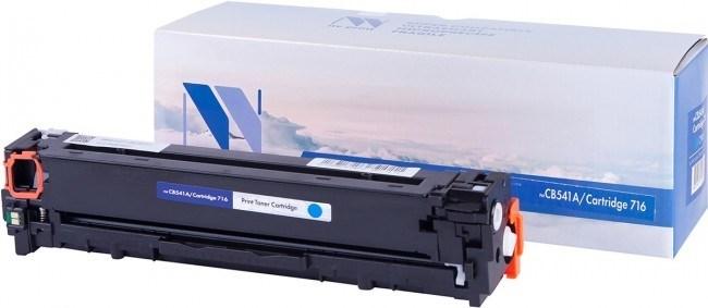 Картридж NVP совместимый NV-CB541A/NV-716 Cyan универсальные для HP/Canon Color LaserJet CP1215/ CP1515n/ CM1312/ CM1312nfi/ i-SENSYS LBP-5050/ MF8030C/ MF8050C/ 8080C (1400k) - фото 10539