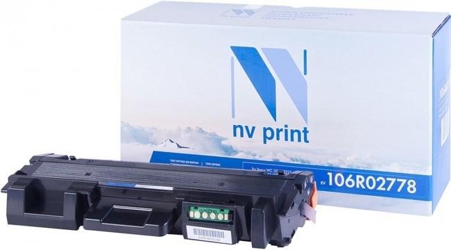 Картридж NVP совместимый NV-T106R02778 для Xerox Phaser 3052/3260/WorkCentre 3215/3225 (3000k) - фото 10582