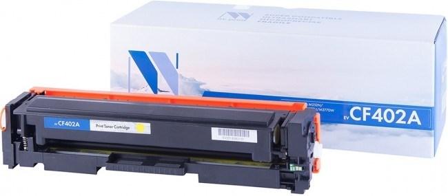 Картридж NVP совместимый NV-CF402A Yellow для HP Color LaserJet Pro M252dw/ M252n/ M274n/ M277dw/ M277n (1400k) - фото 10622