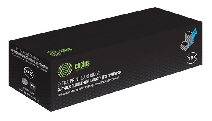 Картридж лазерный Cactus CS-CE278X-MPS черный (3000стр.) для HP LJ P1566/P1606w - фото 10783