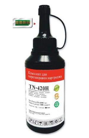 Тонер Pantum TN-420H черный флакон (в компл.:чип) Series P3010/M6700/M6800/P3300/M7100/M7200/P3300/M - фото 10789