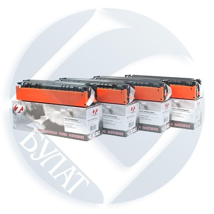Тонер-картридж HP Color LJ M154/M180 CF531A(205A) Cyan (0.9k) 7Q до версии 20200612 включительно - фото 10808