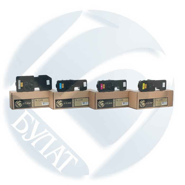 Тонер-картридж Kyocera ECOSYS P5026/M5526 TK-5240 (3k) Magenta (+чип) БУЛАТ s-Line - фото 10870