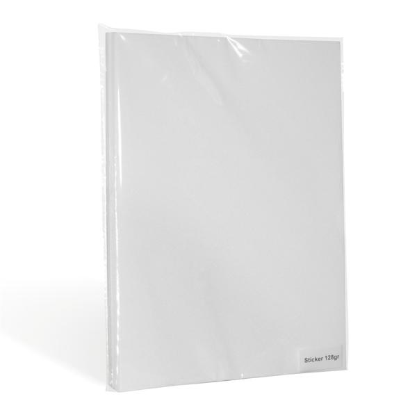 Фотобумага Revcol, глянцевая самоклеющаяся, A4, 128г/м2, 100 л. ЭКОНОМ. - фото 10891