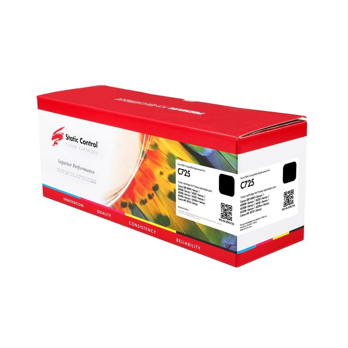 Картридж лазерный Static Control 002-04-SRG725 725 черный (1600стр.) для Canon i-Sensys 6000/6000b - фото 10910
