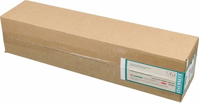 """Бумага Lomond 24""""(A1) 610мм-45м/80г/м2/белый - фото 8909"""