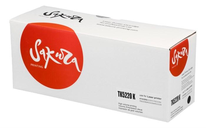 Картридж SAKURA TK5220K для Kyocera Mita ECOSYS p5020cdn/ p5021cdw/ m5221cdn/ m5521cdw, черный, 1 200 к. - фото 8945