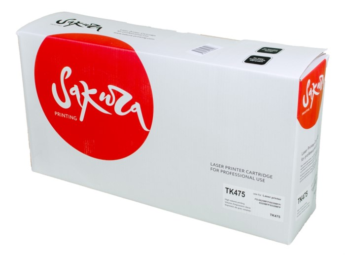 Картридж SAKURA TK475 для Kyocera Mita FS-6025MFP, FS-6025MFP/B, FS-6030MFP, FS-6525MFP, FS-6530MFP, черный, 20000 к. - фото 8961