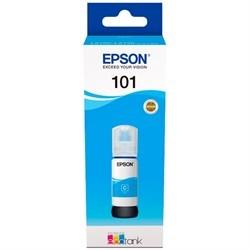 Чернила Epson 101 C13T03V24A синий (70мл) для L4150/L4160/L6160/L6170/L6190 - фото 9012