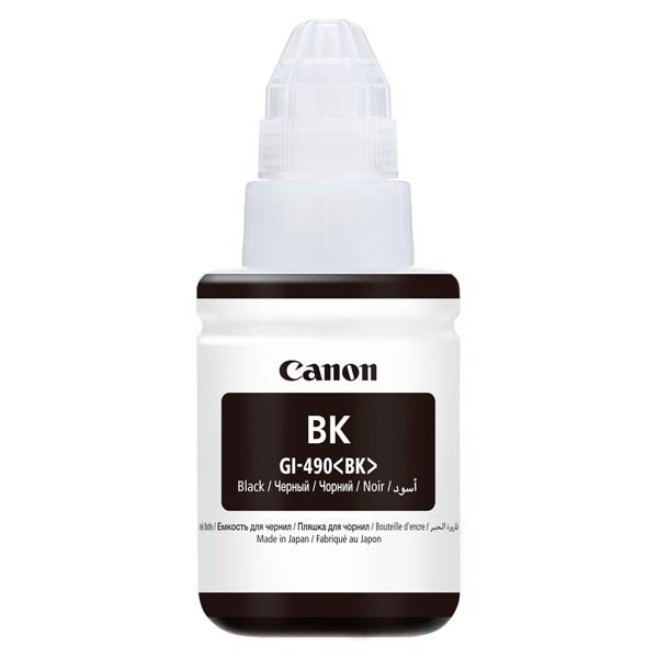 Чернила Canon GI-490BK 0663C001 черный (135мл) для Canon Pixma G1400/2400/3400 - фото 9031