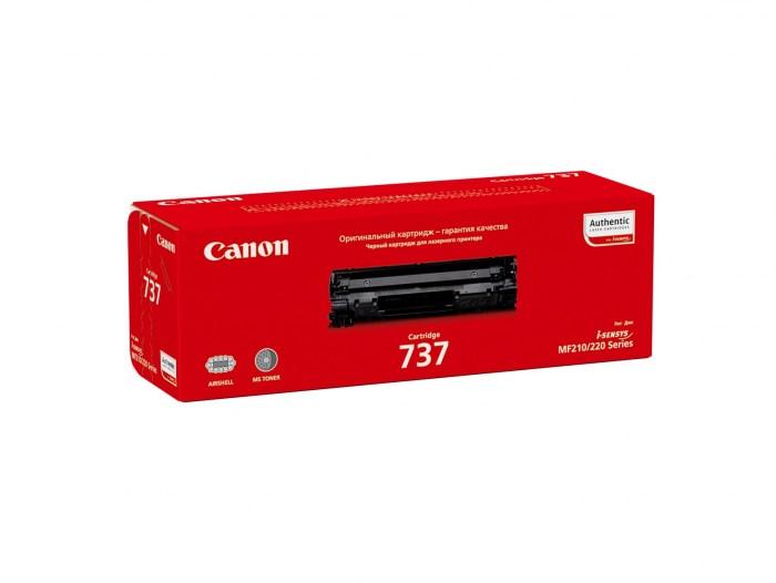 Картридж лазерный Canon 737 9435B004 черный (2400стр.) для Canon i-Sensys MF211/212/216/217/226/229 (оригинальный) - фото 9043
