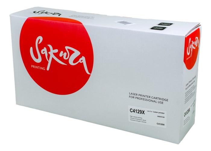 Картридж SAKURA C4129X для HP5000/5100, черный, 10000 к. - фото 9085