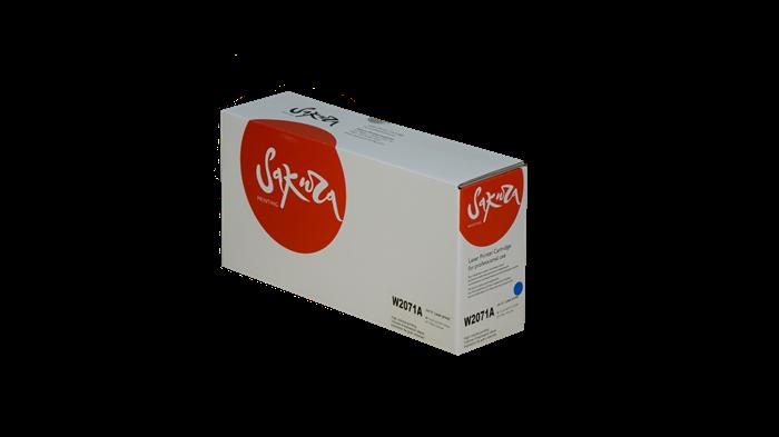 Картридж SAKURA W2071A (HP 117A) для HP Laser 150, MFP 178/ MFP 179, синий, 700 к. - фото 9150