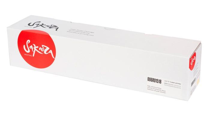 Тонер-туба SAKURA 006R01518 для Xerox WorkCentre 7545/7556, желтый, 15000 к. - фото 9217