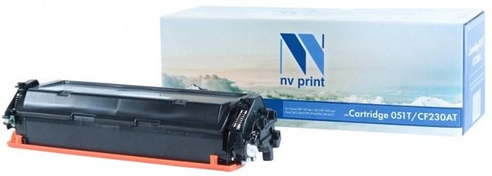 Картридж NVP совместимый NV-051T/CF230AT для Canon LBP-160 ser/162/MF-260 ser/264/267/269/HP LJP-M203/LJP-M227 (1700k) - фото 9327