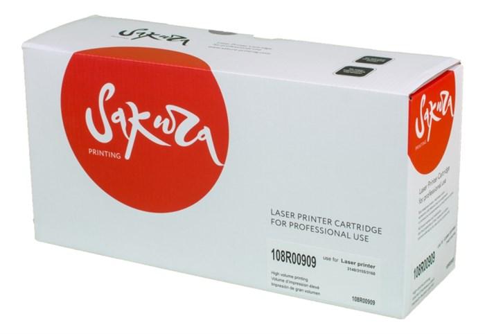 Картридж SAKURA 108R00909 для Xerox P3140/P3155/P3160, черный, 2500 к. - фото 9337