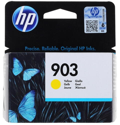 Картридж струйный HP 903 T6L95AE желтый (315стр.) для HP OJP 6950/6960/6970 - фото 9403