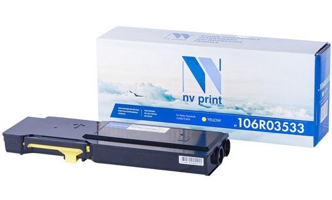 Картридж NVP совместимый NV-106R03533 Yellow для Xerox VersaLink C400/C405 (8000k) - фото 9441