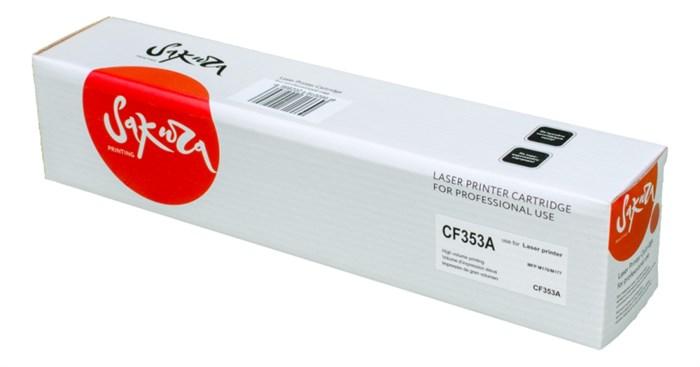 Картридж SAKURA CF353A для HP MFP M176/M177, пурпурный, 1000 к. - фото 9479
