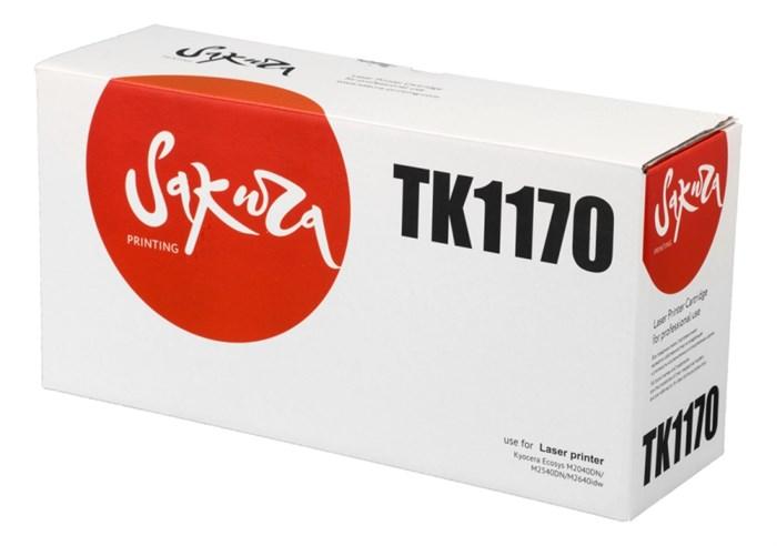 Картридж SAKURA TK1170 для Kyocera Mita ECOSYS m2040dn/ m2540dn/ m2640idw, черный, 7 200 к. - фото 9488