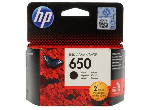 Картридж струйный HP 650 CZ101AE черный для HP DJ IA 2515 - фото 9491