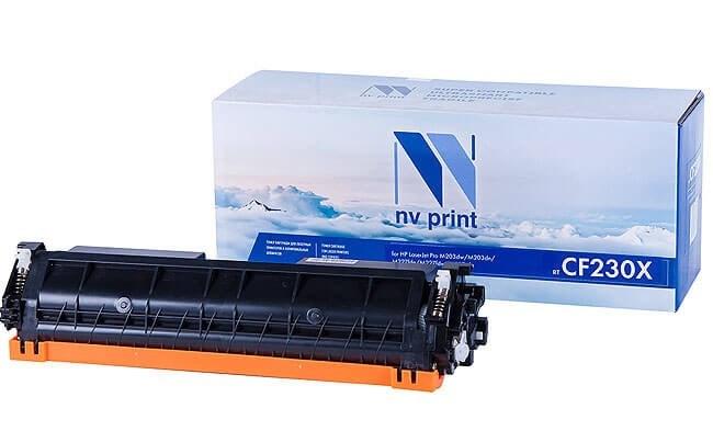 Картридж NVP совместимый NV-CF230XT для HP LaserJet Pro M227fdn/ M227fdw/ M227sdn/ M203dn/ M203dw (3500k) - фото 9494