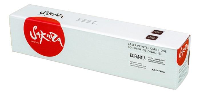 Картридж SAKURA KXFAT411А для Panasonic KX-MB1900, KX-MB2000, KX-MB2020, KX-MB2030, KX-MB2051, KX-MB2061, черный, 2000 к. - фото 9602