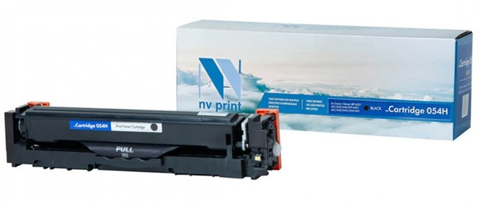 Картридж NVP совместимый NV-054H Black  для Canon i-Sensys LBP-620/621/623/640/MF-640/641/642/643/644/645 (3100k) - фото 9615