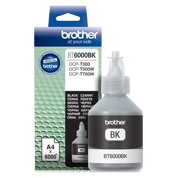 Чернила Brother BT6000BK черный (6000стр.) для Brother DCP-T300/T500W/T700W - фото 9633