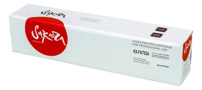 Картридж SAKURA KXFAT92A для Panasonic KX-MB262/263/271/283/763/772/773/781/783, черный, 2000 к. - фото 9636