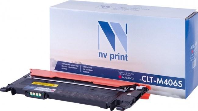 Картридж NVP совместимый NV-CLT-M406S Magenta для Samsung CLP 360/ 365/ 365W/ Xpress C410W/ C460W/ CLX 3300/ 3305/ 3305FN/ 3305FW/ 3305N/ 3305W (1000k) - фото 9647