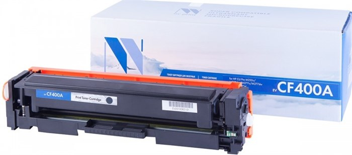 Картридж NVP совместимый NV-CF400A Black для HP Color LaserJet Pro M252dw/ M252n/ M274n/ M277dw/ M277n (1500k) - фото 9653