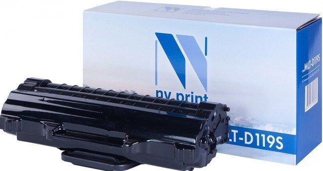Картридж NVP совместимый NV-MLT-D119S для Samsung ML 1610/ 1615/ 1620/ 1625/ 2010/ 2010P/ 2010R/ 2015/ 2020/ 2510/ 2570/ 2571/ 2571N/ SCX 4321/ 4521/ 4521F/ 4521FG (2000k) - фото 9654