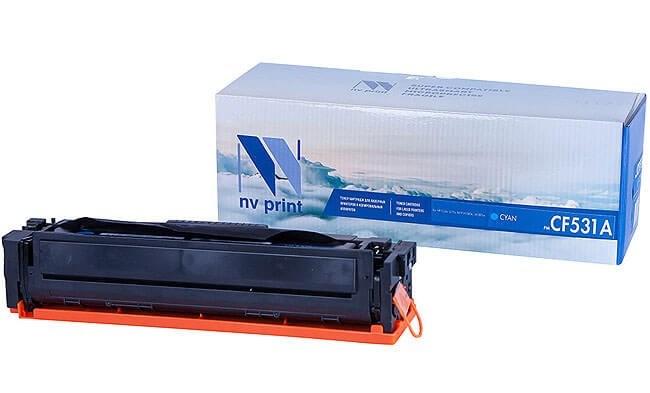 Картридж NVP совместимый NV-CF531A Cyan для HP Color LaserJet Pro M180n/ M181fw (900k) - фото 9694