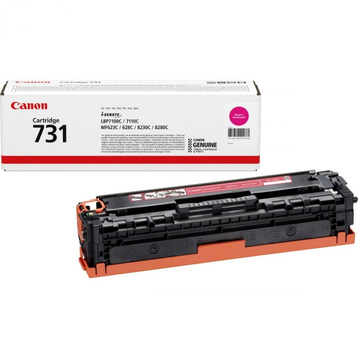 Тонер-картридж CANON 731М для LBP 7100Cn/7110Cw пурпурный оригинал/6270B002 - фото 9749