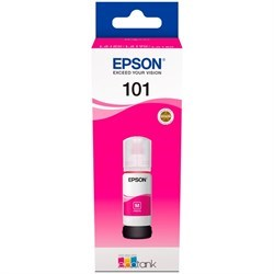 Чернила Epson 101 C13T03V34A пурпурный (70мл) для L4150/L4160/L6160/L6170/L6190 - фото 9891