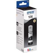 Чернила Epson 106 C13T00R140 фото черный (1900стр.) (70мл) для Epson L7160/7180 - фото 9904