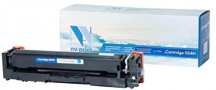 Картридж NVP совместимый NV-054H Cyan для Canon i-Sensys LBP-620/621/623/640/MF-640/641/642/643/644/645 (2300k) - фото 9956