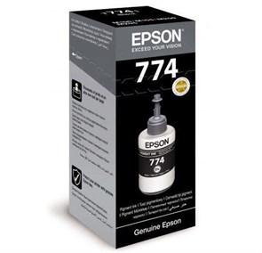Чернила Epson T7741 C13T77414A черный (6000стр.) (140мл) для Epson M100/105/200