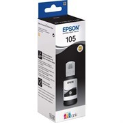 Чернила Epson 105BK C13T00Q140 черный (8000стр.) (140мл) для Epson L7160/7180